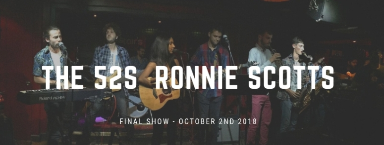 The 52s - Ronnie Scotts.line up poster